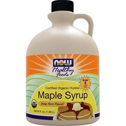 NOW 100% Pure Maple Syrup 64 fl.oz