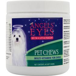 ANGELS EYES Pet Chews - Multi Vitamin for Dogs 40 chews