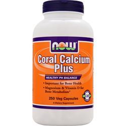 NOW Coral Calcium Plus 250 vcaps