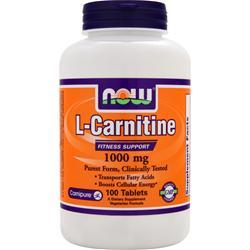NOW L-Carnitine (1000mg) 100 tabs