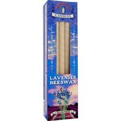 WALLY'S Lavender Beeswax Ear Candles 12 unit