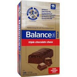 Balance Bar Balance Bar Gold Triple Chocolate Chaos 15 bars