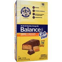 Balance Bar Balance Carb Well Bar Caramel 'n Chocolate 15 bars