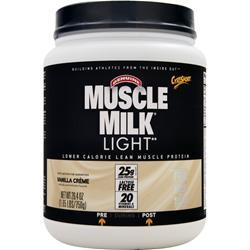 Cytosport Muscle Milk Light Vanilla Creme BEST BY 2/17 1.65 lbs