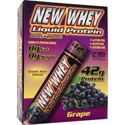 NEW WHEY NUTRITION New-Whey Liquid Protein (42gr Protein) Grape 12 vials