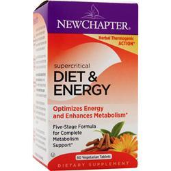 NEW CHAPTER Diet & Energy - Supercritical 60 tabs