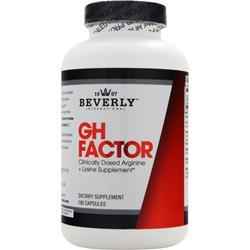 Beverly International GH Factor 180 caps