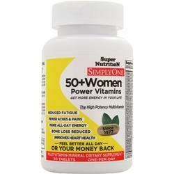 SUPER NUTRITION Simply One 50+ Women - High Energy One-Per-Day 90 tabs