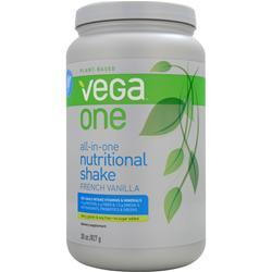 SEQUEL NATURALS Vega One - All in One Nutritional Shake French Vanilla 827 grams