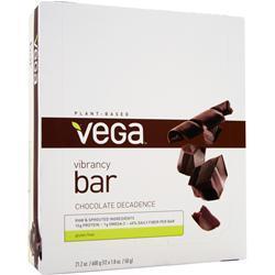Vega Vibrancy Bar Chocolate Decadence 12 bars