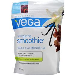 SEQUEL NATURALS Vega - Energizing Smoothie Vanilla Almondilla 9.7 oz