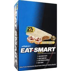 ISATORI Eat Smart Bar Frosted Cinnamon Caramel 9 bars