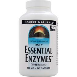 Source Naturals Daily Essential Enzymes (500mg) 240 caps