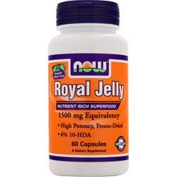 Now Royal Jelly (1500mg) 60 caps