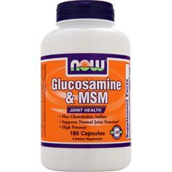 NOW Glucosamine & MSM 180 caps