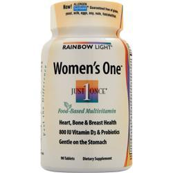 RAINBOW LIGHT Just Once Women's One Multivitamin/Mineral 90 tabs