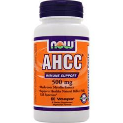 Now AHCC - Active Hexose Correlated Compound (500mg) 60 vcaps