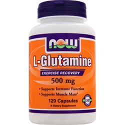 NOW L-Glutamine (500mg) 120 caps