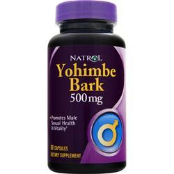 NATROL Yohimbe Bark (500mg) 90 caps