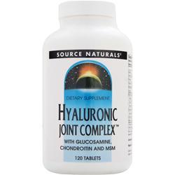 SOURCE NATURALS Hyaluronic Joint Complex 120 tabs