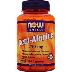 NOW Beta-Alanine (750mg) 120 caps