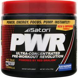 ISATORI PWR (Pre-Workout) Blue Raspberry 144 grams