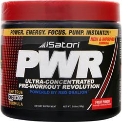 ISATORI PWR (Pre-Workout) Fruit Punch 160 grams