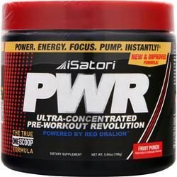 ISATORI PWR (Pre-Workout) Fruit Punch 160 grams