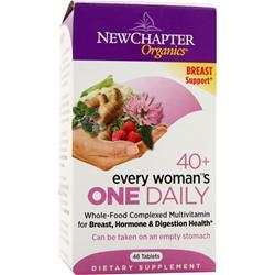 NEW CHAPTER Organics - 40+ Every Woman's One Daily 48 tabs