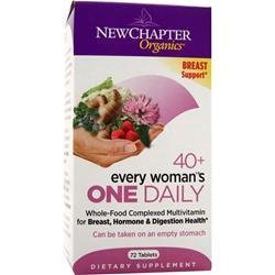 NEW CHAPTER Organics - 40+ Every Woman's One Daily 72 tabs