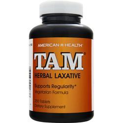 American Health TAM - Herbal Laxative 250 tabs
