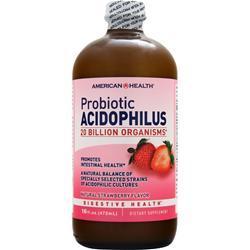 American Health Probiotic Acidophilus (Liquid) Strawberry 16 fl.oz