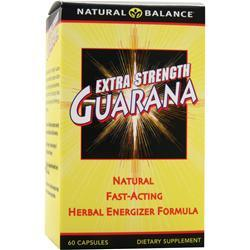 Natural Balance Extra Strength Guarana 60 caps