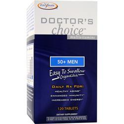 ENZYMATIC THERAPY Doctor's Choice for 50-Plus Men Iron-Free 120 tabs