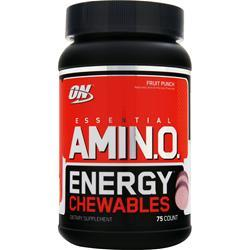 OPTIMUM NUTRITION Essential AMIN.O. Energy Chewables Fruit Punch 75 chews