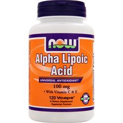 Now Alpha Lipoic Acid (100mg) 120 vcaps