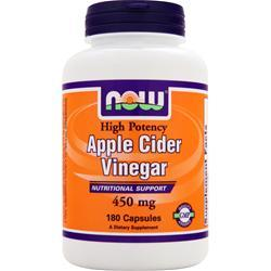 NOW Apple Cider Vinegar (450mg) 180 caps