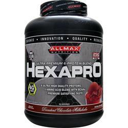 ALLMAX NUTRITION HexaPro Decadent Choc. Milkshake 5.5 lbs