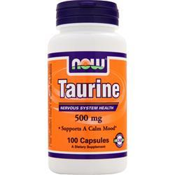 NOW Taurine (500mg) 100 caps