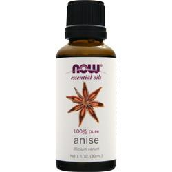 NOW 100% Pure Anise Oil 1 fl.oz