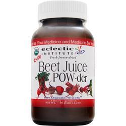 ECLECTIC INSTITUTE Fresh Freeze-Dried Beet Juice Powder 90 gr