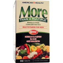 AMERICAN HEALTH More Than A Multiple - Multivitamin for Men 90 tabs