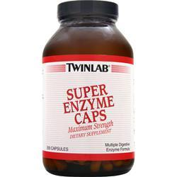 TwinLab Super Enzyme Caps 200 caps