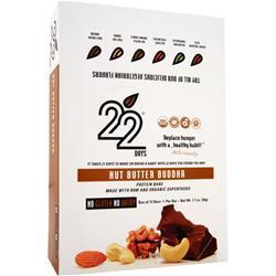 22 Days Protein Bar Nut Butter Buddha 12 bars