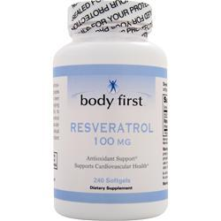 BODY FIRST Resveratrol (100mg) 240 sgels