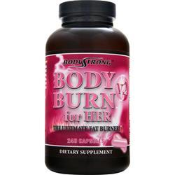 BodyStrong Body Burn for Her V2 - The Ultimate Fat Burner 240 caps