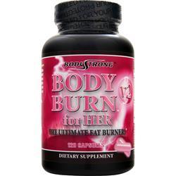 BODYSTRONG Body Burn for Her V2 - The Ultimate Fat Burner 120 caps