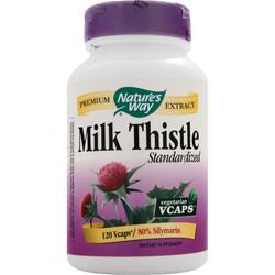 Nature's Way Milk Thistle - Standardized Extract 120 vcaps