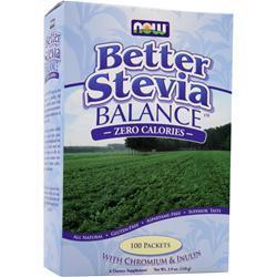 Now Stevia Balance 100 pckts