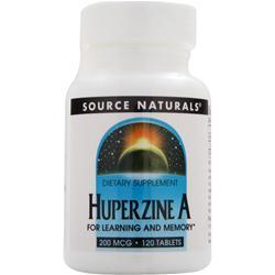 SOURCE NATURALS Huperzine A (200mcg) 120 tabs
